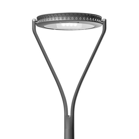 From large avenues to narrow streets and squares, the Yoa urban luminaire creates identity in city landscapes.